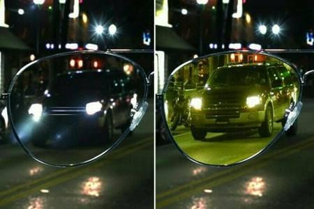 Perbandingan penghilatan menggunakan Kacamata Night View | Tokopedia.com