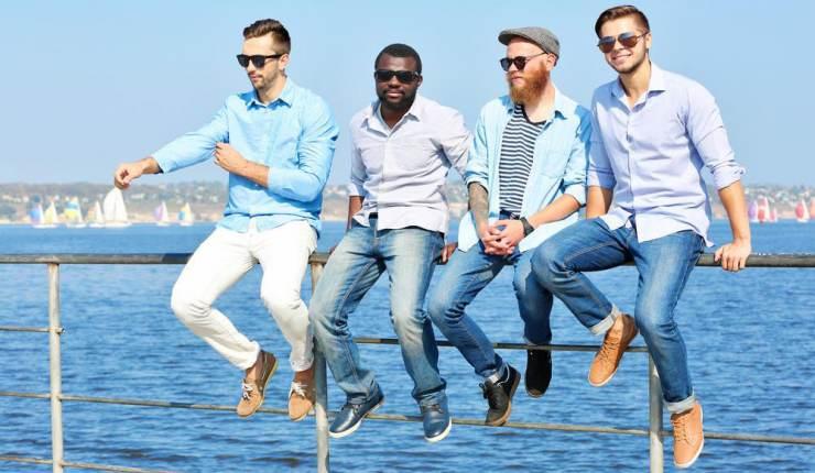 tips memilih kemeja untuk pria kurus