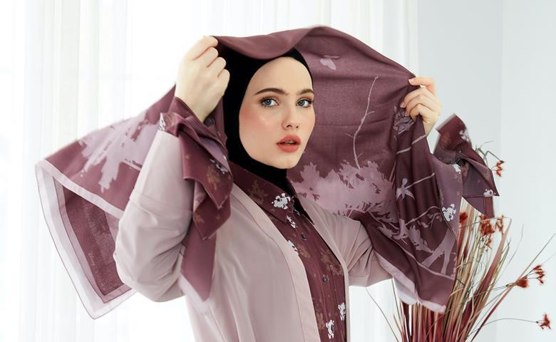 Hijab. Viscose