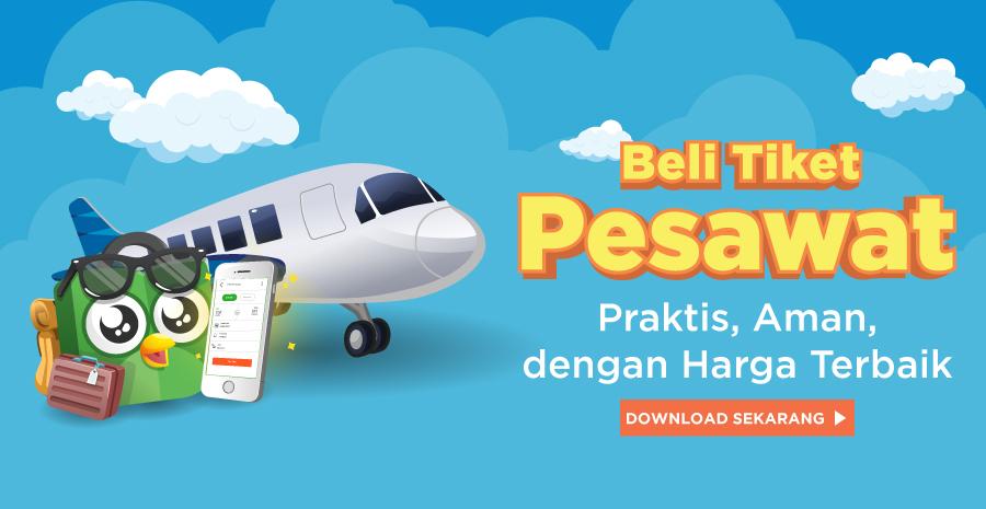 Banner Tiket Pesawat