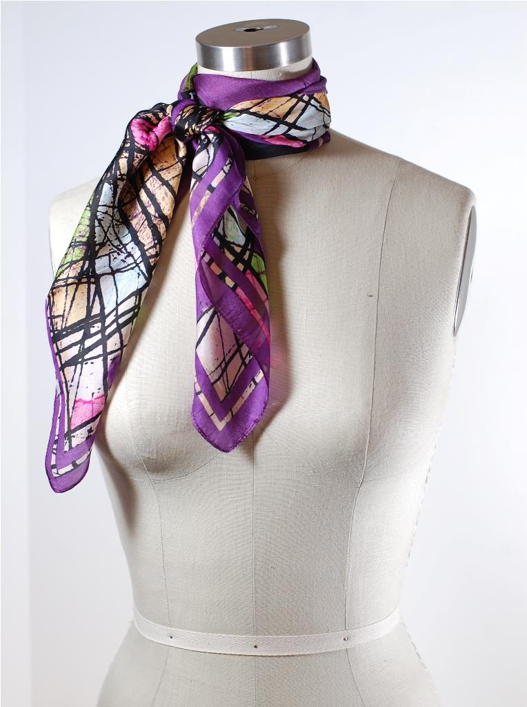 Yuk intip 8 tips jitu memakai syal supaya tetap stylish - Double Wrap French Knot