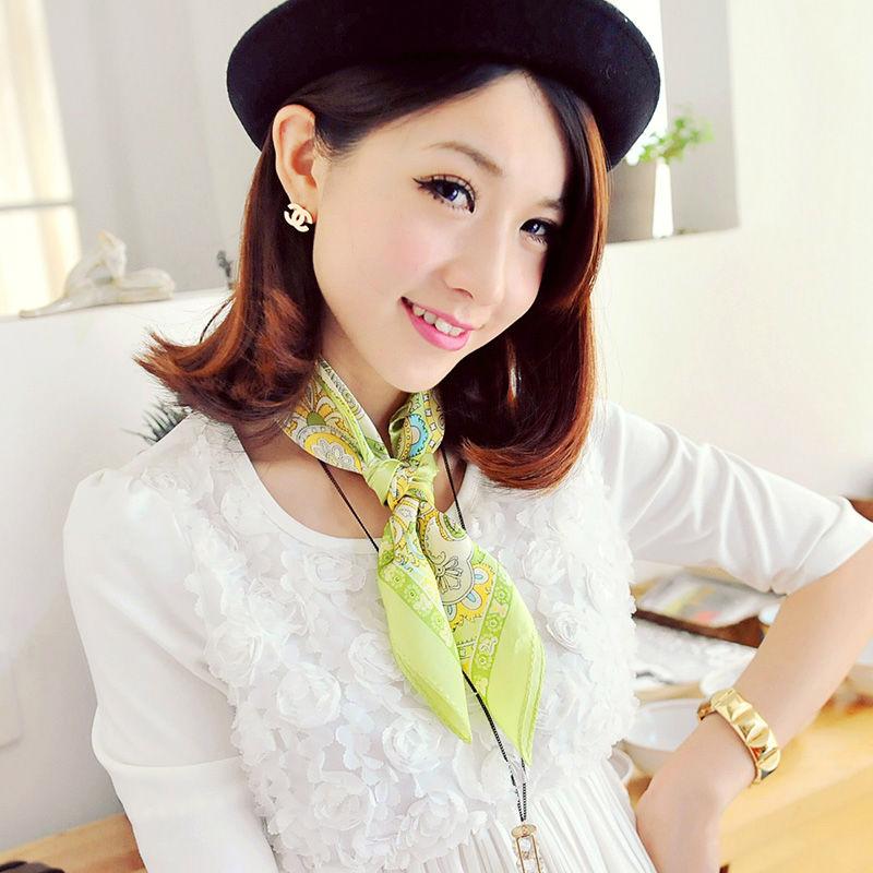 yuk intip 8 tips memakai syal supay tetap stylish - chain knot
