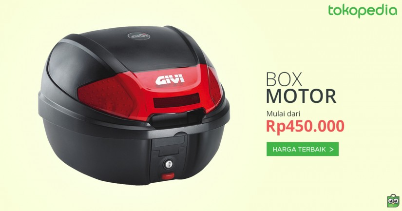Jual Box Bagasi Motor Harga Terbaik Tokopedia