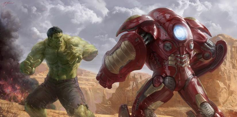 Avengers 2: Ini Dia 11 Fakta Seru Film Age of Ultron! - Hulk ngamuk? ada Hulkbuster armor buatan Tony Stark lho!