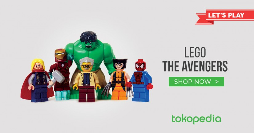 JUAL LEGO THE AVENGERS