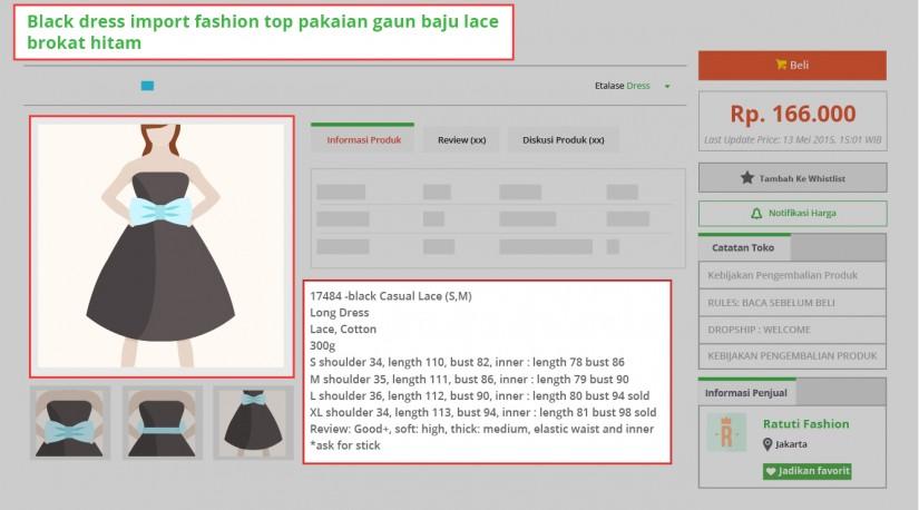 blog tokopedia - maksimalkan tampilan produk