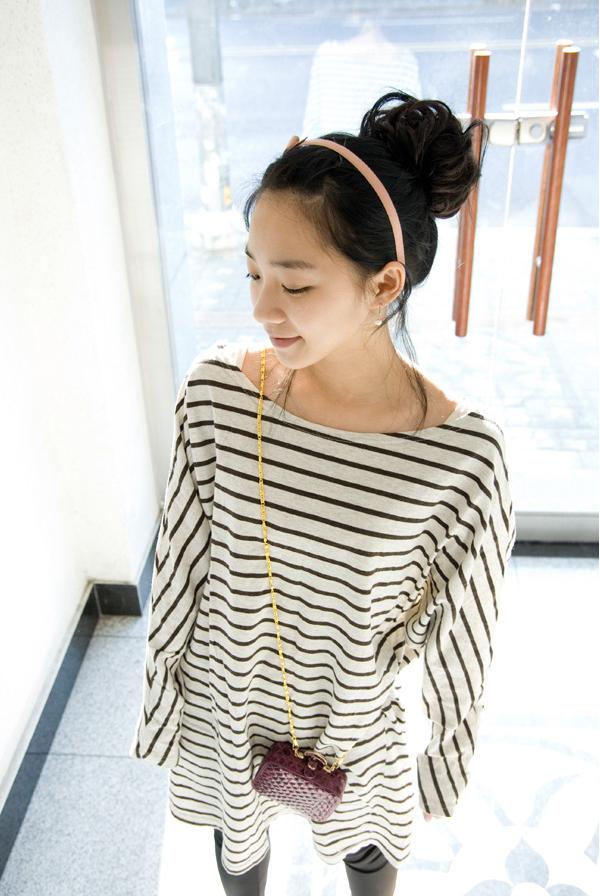 Model rambut wanita korea yang lagi trend - korean bun