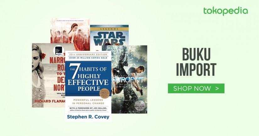 jual buku import murah - Tokopedia