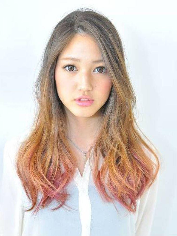 Model rambut wanita korea yang lagi trend - model rambut ombre