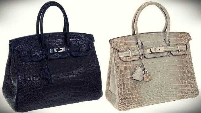 tas termahal di dunia - Hermes Matte Crocodile Birkin Bag 162eb29723
