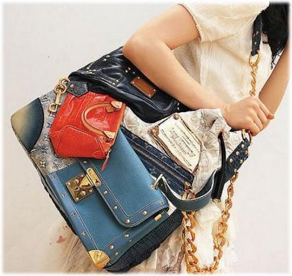 tas termahal di dunia - Louis Vuitton Patchwork Bag