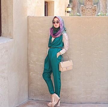 tips fashion hijab yang nyaman untuk liburan 3