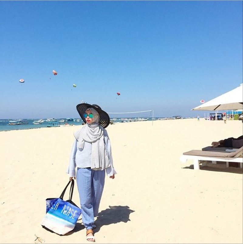 Hijab Fashion Ke Pantai Hijab Top Tips