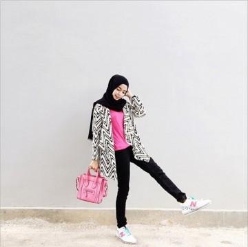 tips fashion hijab yang nyaman untuk liburan 5