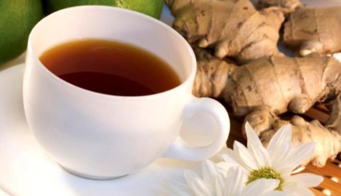 teh hangat dan jahe
