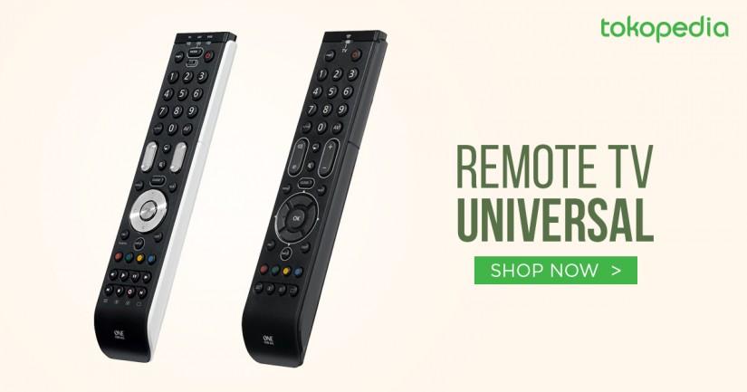 jual remote tv universal