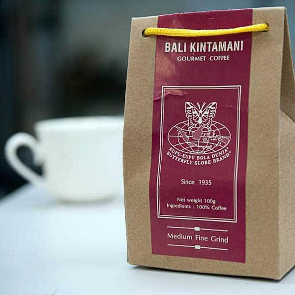 oleh-oleh khas bali yang wajib dibeli - kopi kintamani