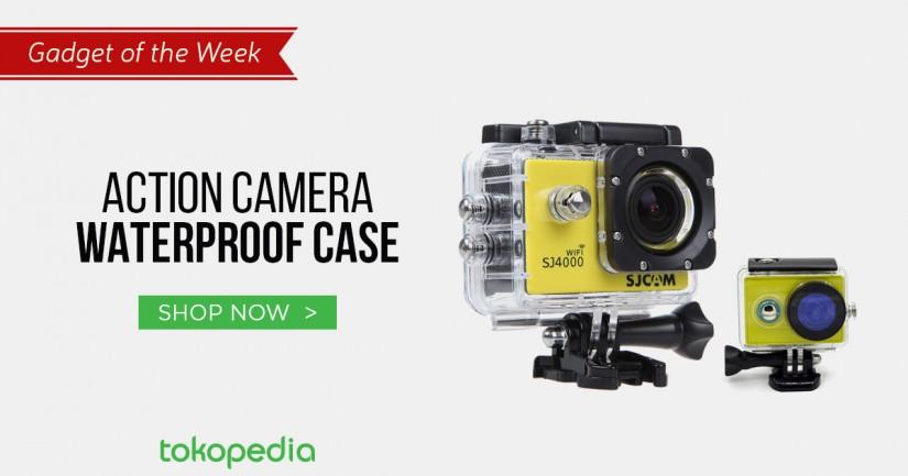 jual action camera waterproof case