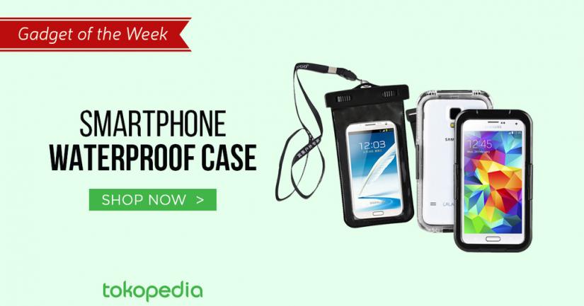 aksesoris pelindung handphone - waterproof