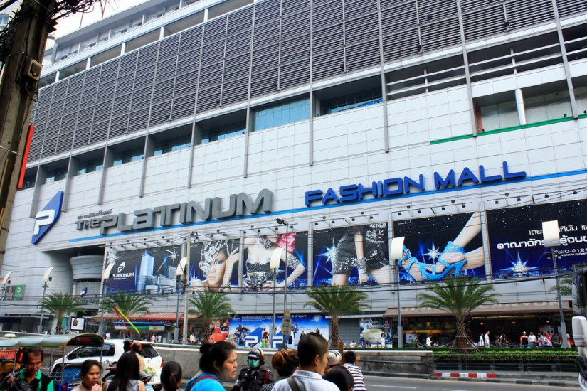 tempat belanja murah di bangkok thailand - The Platinum Fashion Mall