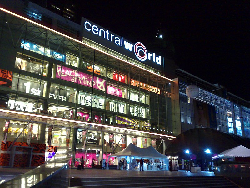 tempat belanja murah di bangkok thailand - central world bangkok