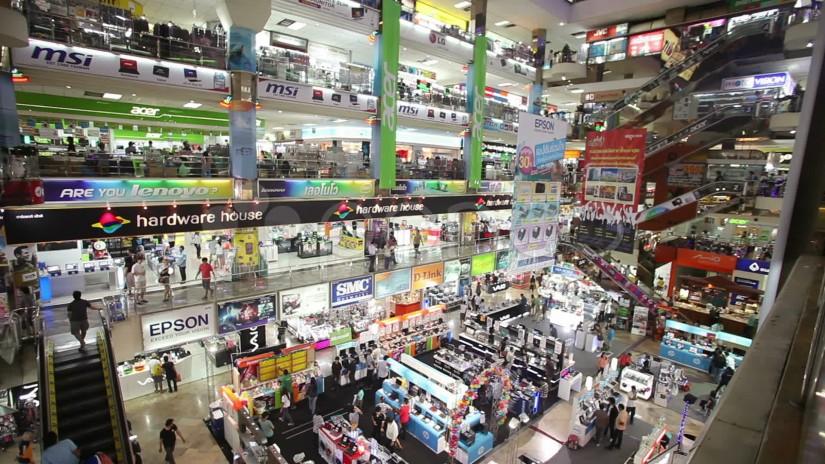 tempat belanja murah di bangkok thailand - pantip plaza