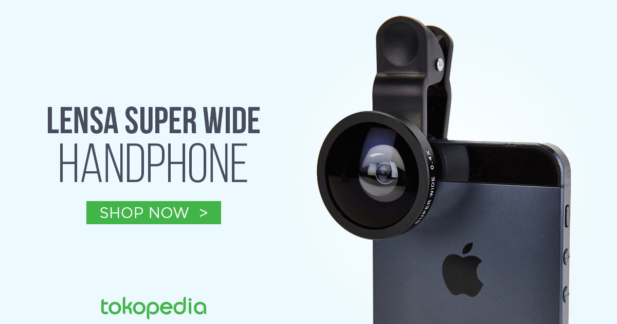 jual lensa super wide handphone