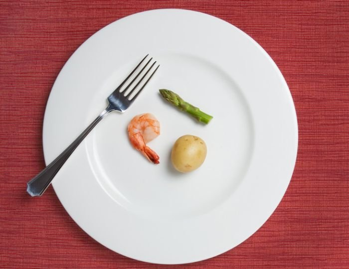 tips diet cepat dan sehat - makan dengan porsi sedikit