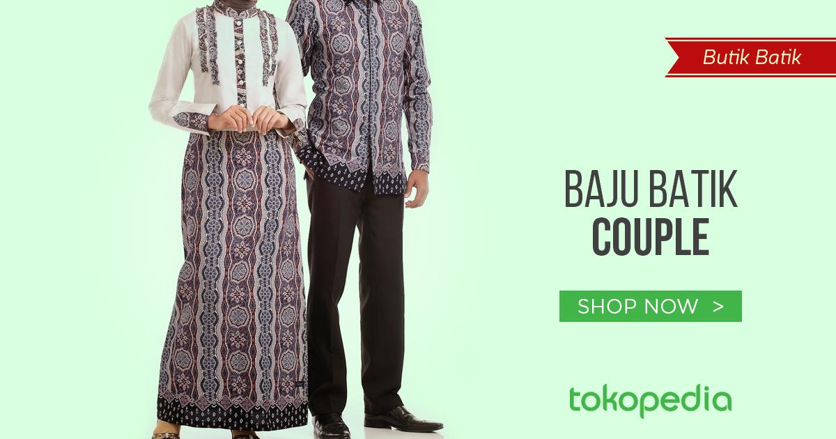jual baju batik couple