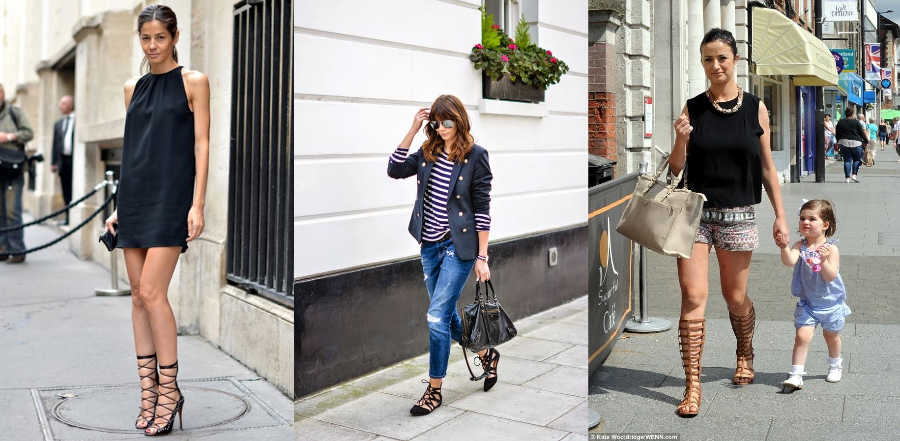 b8f616b312d3 Trend Fashion Wanita 2015 Sepatu yang Siap Bikin Kamu Makin Hits - lace up  shoes