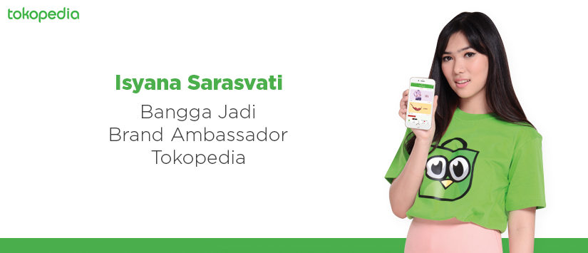 Isyana Sarasvati - Brand Ambassador Tokopedia