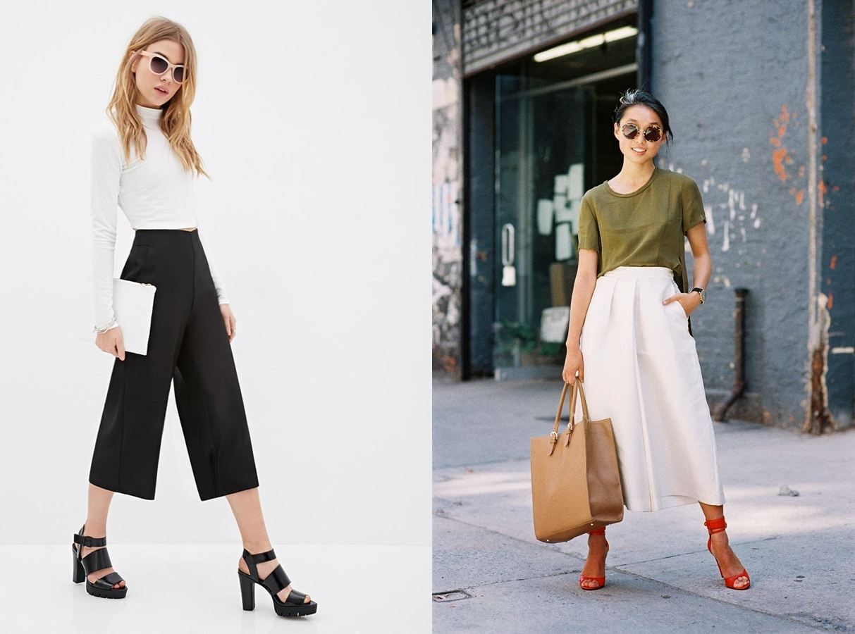 Bingung Buat Mix Match Celana Kulot Gampang Kok Ini Referensinya Tokopedia Blog