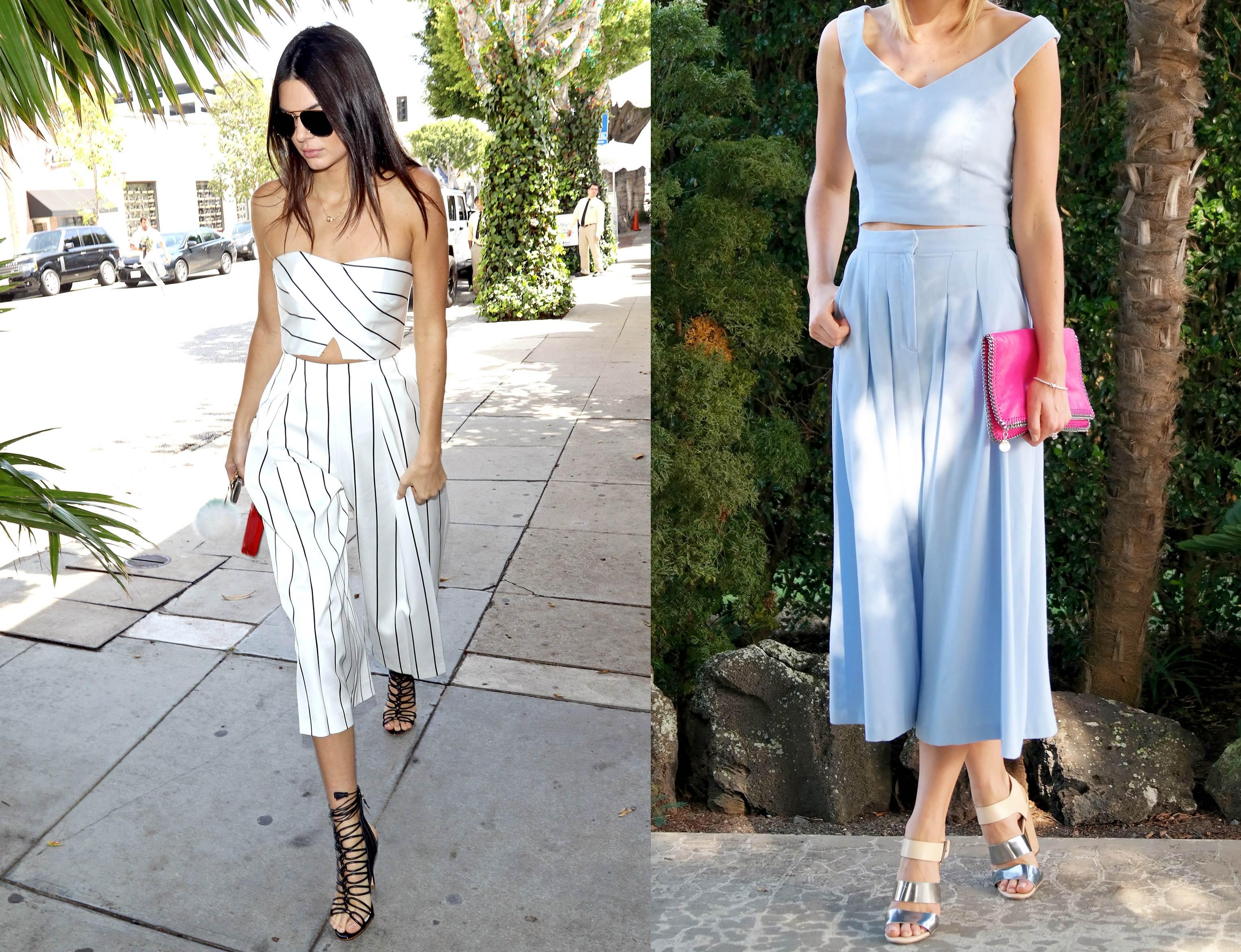 mix n match celana kulot dengan atasan sesuai - celana kulot matching warna dengan atasan jumpsuit