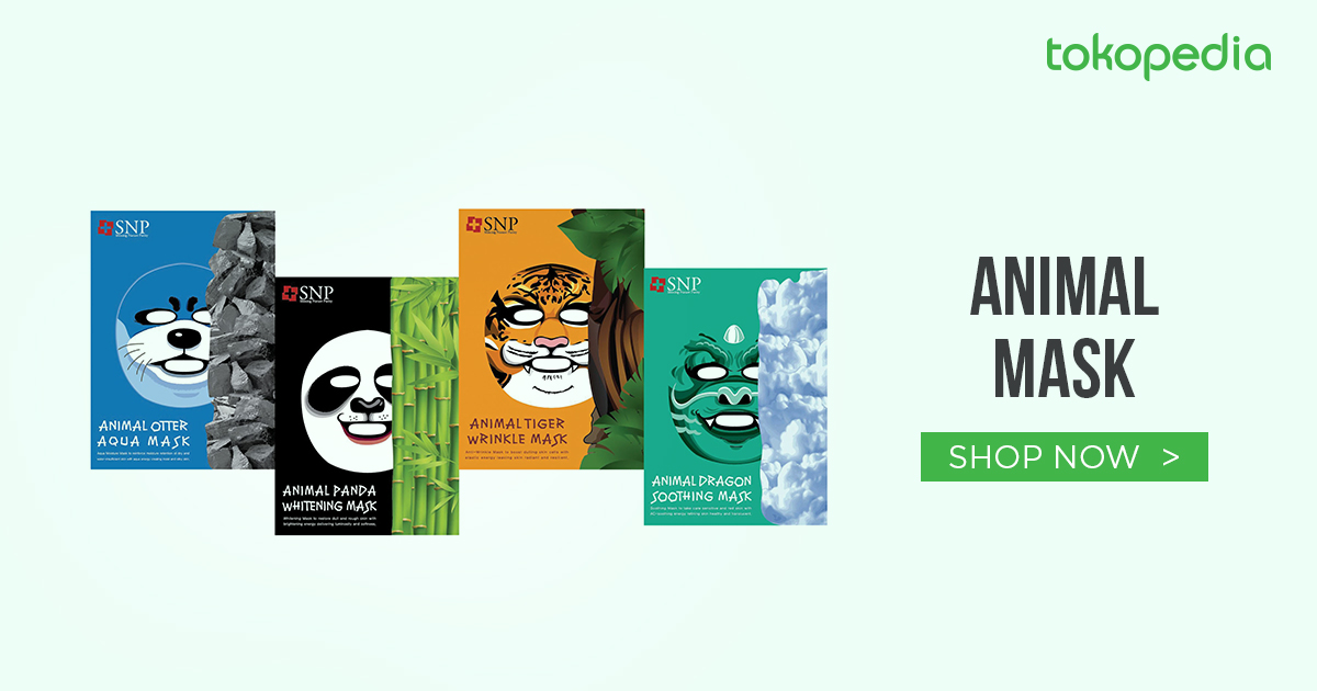 jual masker wajah hewan / animal mask