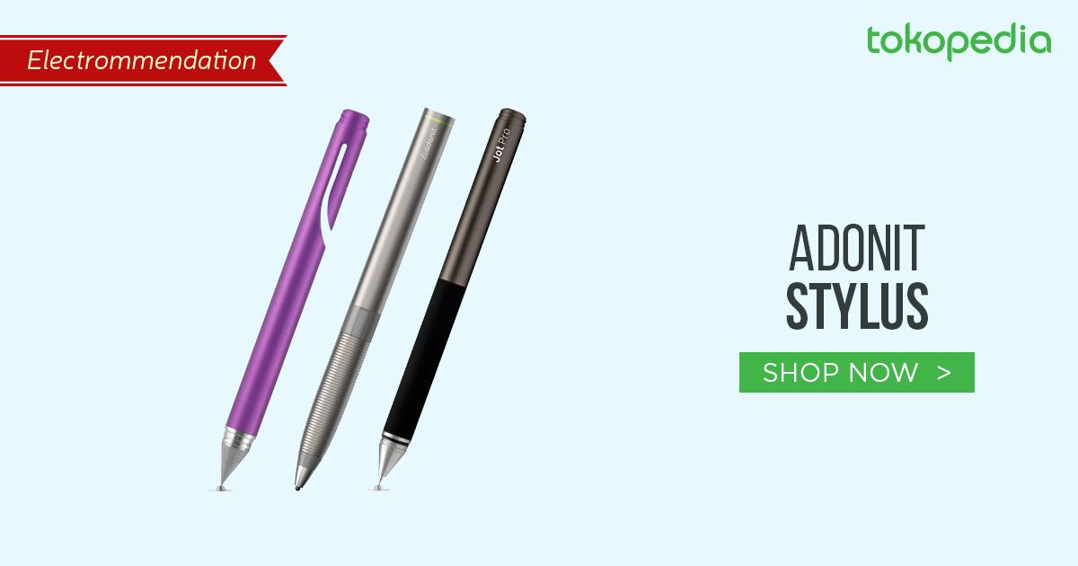 jual pen tablet, adonit stylus