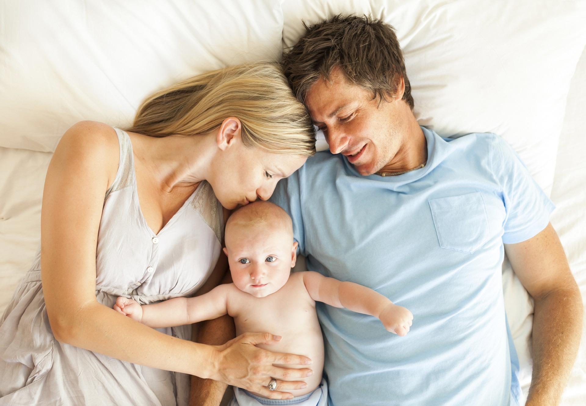 Berbagi Tempat Tidur dengan Bayi