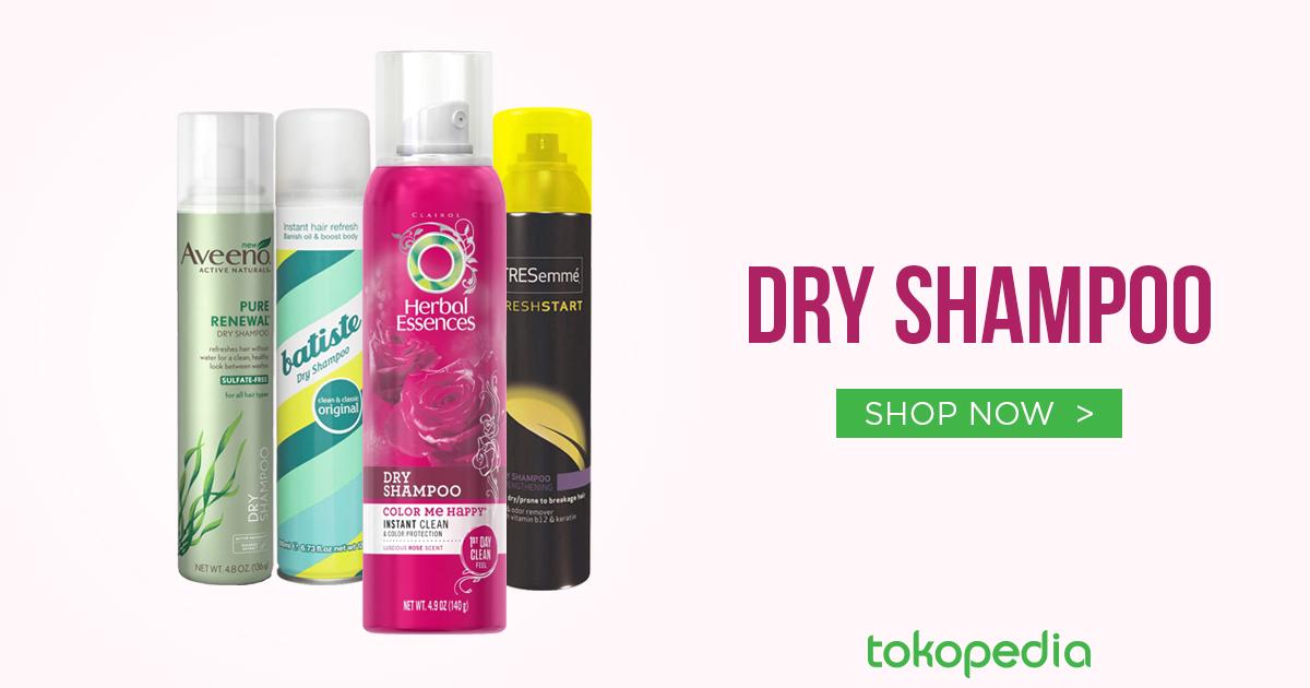 jual dry shampoo murah bagus