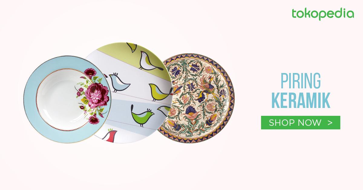 jual piring keramik bagus dan murah