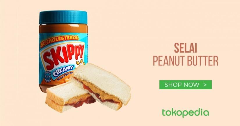 Diet Dengan Peanut Butter Sudah Biasa. Sehat Dengan Selai Kacang? Luar Biasa!