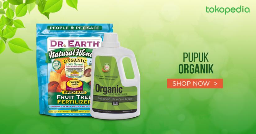 Jual Pupuk Organik Tanaman