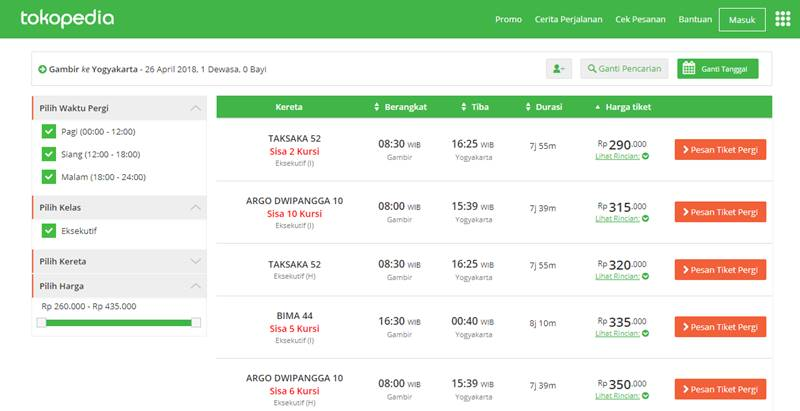Cara Beli Tiket Kereta Untuk Mudik Lebaran Online