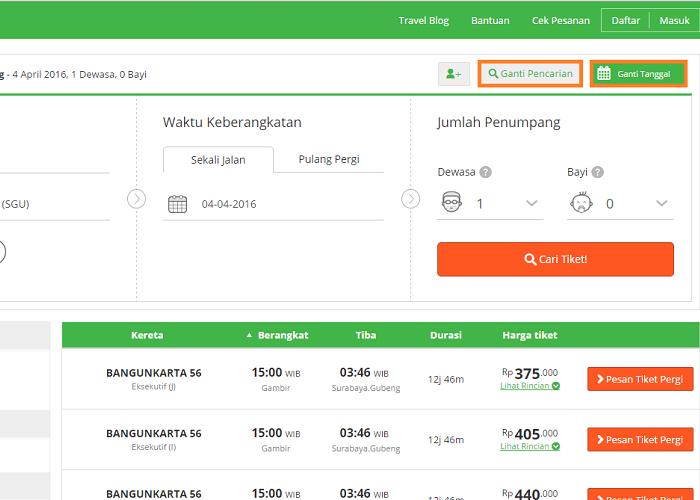 Cek Info Harga Tiket Kereta Lebih Mudah Online Tokopedia Blog