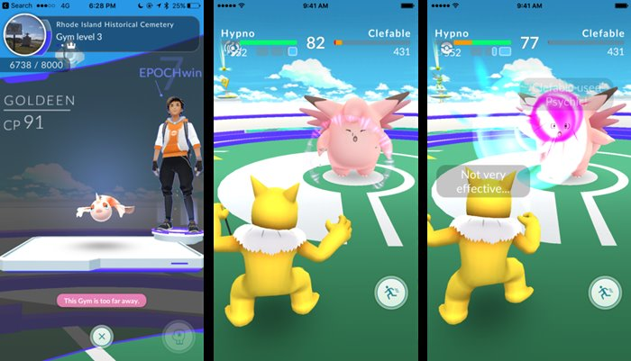 cara menang gym pokemon go
