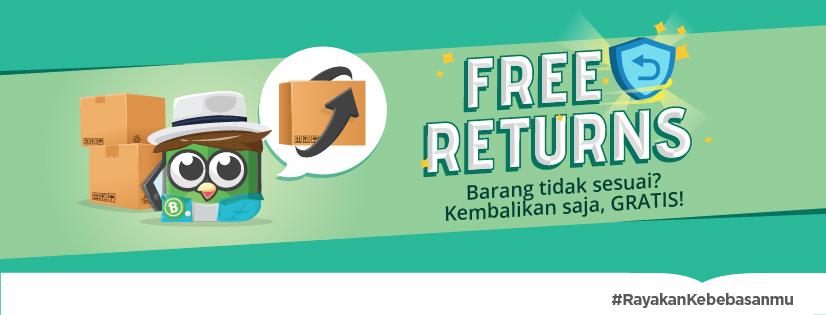 Free Returns: Tingkatkan Kredibilitas Toko, Buat Pembeli Makin Nyaman Belanja Online