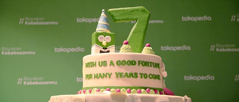 Yuk Intip Kemeriahan Perayaan Ulang Tahun Tokopedia yang ke-7
