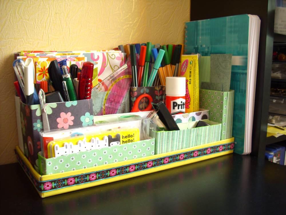 tips meja kerja rapi alat tulis