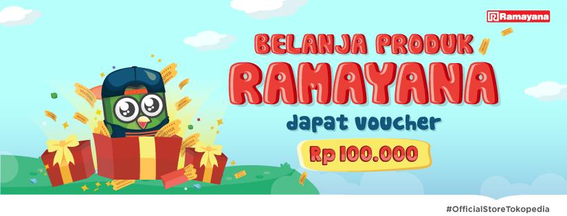 promo giveaway voucher ramayana 100 ribu