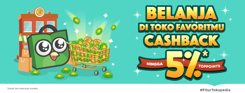 cashback toppoints tokopedia