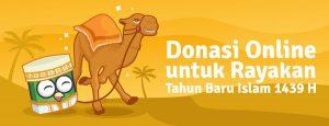 Donasi Online untuk Rayakan Tahun Baru Islam 1439 H