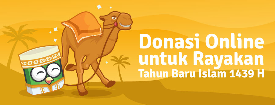 donasi online tahun baru islam